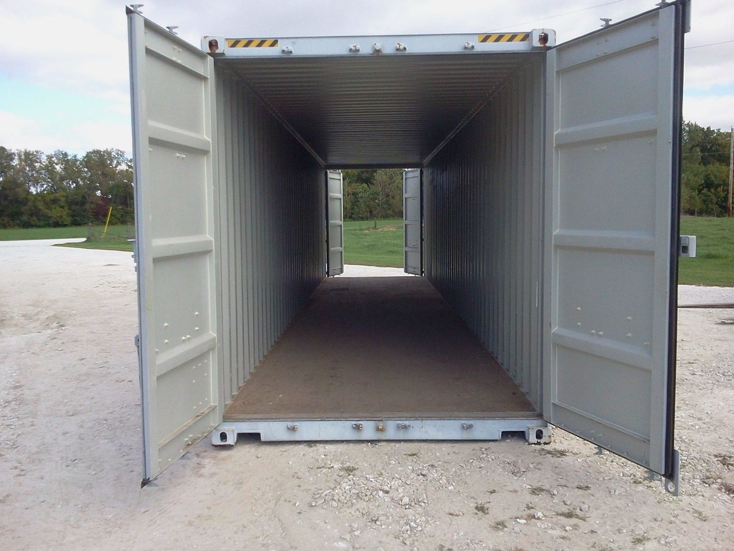40' High Cube One Trip Double Door (New)